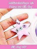 Clip: Schlüsselanhänger mit Namen aus Silk Clay - Silk Clay DIY