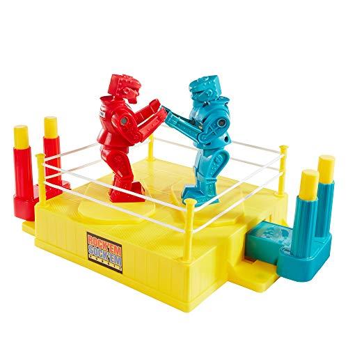 Mattel Games - CCX97 Rock'Em Sock'Em Robots, Boxkampf geeignet für 2 Spieler, Actionspiel für schlagkräftigen Spielspaß, Spiel...