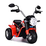 DREAMADE Elektro-Motorrad Elektrofahrzeug für Kinder 2-3 Jahre, kinderfahrzeug Kindermotorad...