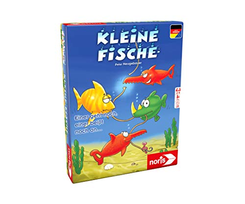 Noris 606187098 Kleine Fische, für alle flinken Kartenspieler, die nicht gerne im Trüben fischen, ab 7 Jahren