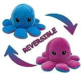 Reversible Flip Plüsch Oktopus Spielzeug Puppen Doppelseitiger Plüschtiere Nettes Geschenk der Kreativen Tintenfisch Puppe...