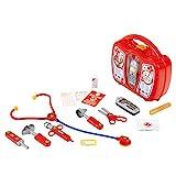 Theo Klein 4350 Arztkoffer mit Handy I Robuster Koffer mit Stethoskop, Spritze und vielem mehr I Mit batteriebetriebenem Handy mit...