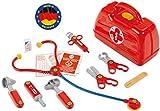 Theo Klein 4457 Arztkoffer I Mit Stethoskop, Thermometer, Spritze und vielem mehr I Robuster...