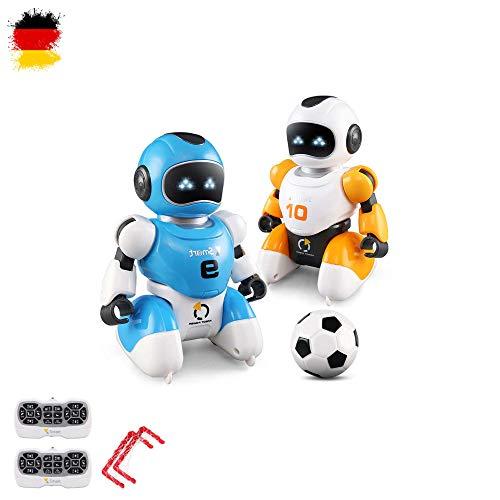 HSP Himoto RC Ferngesteuerter Fußballer Roboter, programmierbar, Spielen Fußball, singen, tanzen, inklusive 2X Roboter 2X...
