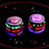 Kreisel Spielzeug, Shineus Gyro Kreisel mit bunten Blitz Licht emittierende rote Laser Linie Weihnachtsgeschenk für Jungen Kinder...