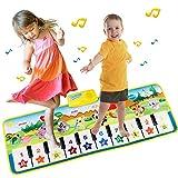 EXTSUD Piano Mat Tanzmatten Klaviermatte Musikmatte Kinder 8 Tierstimmen...