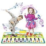 Kinder Klaviermatte Kleinkind Kinderspielzeug Mädchen Jungen, Touch Game Teppich Matte Jungen Geburtstagsspielzeug 2-9 Jahre...