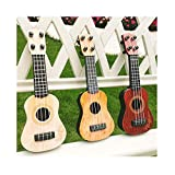 OVERMAL Spielzeug Ukulele Kleine Gitarrenmodelle Kinderspielzeug Gitarre Musikinstrument Geeigne Ukulelenspielzeug...