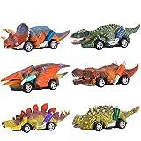 Dreamingbox Spielzeug für Jungen 2-8 Jahre, Dinosaurier Auto Spielzeug ab 3-6 Jahren für Jungen Geschenke Mädchen 2-8 Jahre...