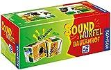 KOSMOS 697365 - Soundwürfel Bauernhof, Lernspielzeug mit Geräuschen, für Kinder ab 2 Jahre, Spielzeug für Kleinkinder,...