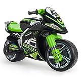 INJUSA - Laufrad Kawasaki Winner XL Nicht-Elektrisch, mit offizieller empfohlener Markenlizenz für Kinder + 3 Jahre mit breiten...