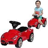 rastar Ferrari 458 Tretspielzeug, Auto – Spielzeug-Fahrzeuge (Tretspielzeug, Auto, 4 Räder, rot, für Kinder, Junge und...