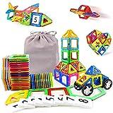 48Stk Kinderspielzeug Kleinkind Konstruktionsspielzeug 3D mit Rädern und Figur Geschenkideen Kinder Mit MEHRWEG...