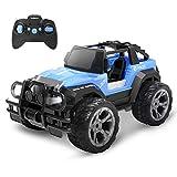 DEERC DE42 RC Ferngesteuertes Auto für Kinder,Wasserdicht Car 1:18 Spielzeug mit 80 Min. Lange Laufzeit,Fernbedienungsauto...