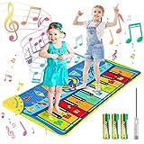 joylink Tanzmatte, Klaviermatte Musikmatte Tanzmatte Kinder Keyboard Matte Tastatur Matte Spielzeug Piano Matte Keyboard...