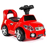 Bopster Kinderfahrzeug im Sportwagen-Look (12–36 Monate) - Rot