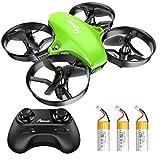 Potensic Mini Drohne für Kinder und Anfänger mit 3 Akkus, RC Quadrocopter, Mini Drone mit Höhenhaltemodus, Start / Landung mit...
