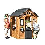 Backyard Discovery Spielhaus Sweetwater aus Holz | Outdoor Kinderspielhaus für den Garten inklusive Zubehör | Gartenhaus für...
