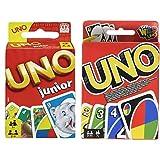 Mattel Games 52456 UNO Junior Kartenspiel für Kinder, geeignet & Games W2087 - UNO Kartenspiel, geeignet für 2 - 10 Spieler,...