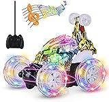 UTTORA Ferngesteuertes Auto Militärfahrzeuge,Kinderspielzeug für Jungen Mädchen,Dual Modi 360° Drehbarer Stunt Rennwagen...