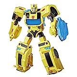 Transformers E8381 Bumblebee Cyberverse Adventures Battle Call Officer-Klasse Bumblebee, stimmenaktivierte Lichter und Sounds