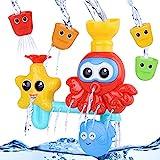 BBLIKE Badespielzeug für Babys, Kinder Wasser Dusche Badewannenspielzeug mit 3...