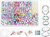 24 Arten Bunte Baby Stringing Perlen Spiel Schnürsystem Perlen Beads Spielzeug DIY Perlenschmuck für Kinder zum Basteln von...
