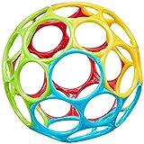 Bright Starts, Oball Classic - flexibles und leicht greifbares Design, für Kinder jeden Alters, Bunt