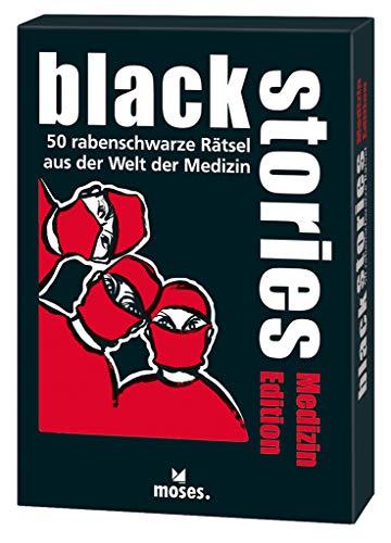 black stories - Medizin Edition: 50 rabenschwarze Rätsel aus der Welt der...