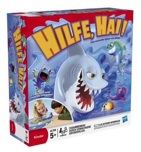 Hasbro Spiele 33893100 - Hilfe, Hai! Kinderspiel