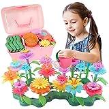 Dreamy Cubby Blumengarten Spielzeug für Mädchen 3-6 jährige Geburtstag Mädchen Geschenke Kleinkind Spielzeug DIY Bouquet...
