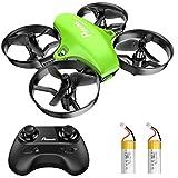 Potensic Mini Drohne für Kinder und Anfänger mit 2 Akkus, RC Quadrocopter, Mini Drone mit...