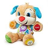 Fisher-Price FPM50 - Lernspaß Hündchen Baby Spielzeug und Plüschtier, Lernspielzeug mit Liedern und Sätzen, mitwachsende...