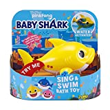 ZURU Robo Alive Junior 25282 Shark Baby Badespielzeug, gelb