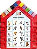 Logo Lernhaus: Set 1 Kinderwissen 3-4-jährige Kinder: Mein Lernsteckspiel: Spielen - Lernen - Kontrollieren / Set 1 Kinderwissen...