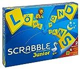 Mattel Games Y9670 - Scrabble Junior Wörterspiel und Kinderspiel, Kinderspiele Brettspiele geeignet für 2 - 4 Kinder ab 6...