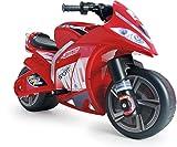 INJUSA - Eletromotorrad Wind 6V mit Gaspedal in der Lenker, elektrischer Bremse Für Kinder ab 3 Jahren