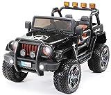 Actionbikes Motors Kinder Elektroauto Jeep Wrangler Offroad - 4x4 Allrad - USB - Sd Karte - 4 x 35 Watt Motor - 2-Sitzer - Rc 2,4...