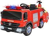 Actionbikes Motors Kinder Elektroauto Polizei / Feuerwehr SX1818 - 2 x 35 Watt Motoren - Fernbedienung - Sirene - Blaulicht - Eva...