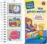 Was gehört wohin?: Mein großes Spielbuch mit 22 Magnetteilen. Ab 24 Monaten (ministeps...