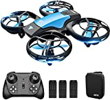 4DRC V8 Mini Drohne für Kinder,RC Quadrocopter Fernbedienung und Handsteuerung,Nano Drone mit 3 Batterien Lange...