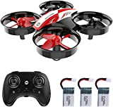 Holy Stone HS210 Mini Drohne für Kinder, RC Quadrocopter Helikopter Ferngesteuert mit 3 Akkus,...
