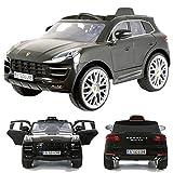 Rollplay Porsche Macan Turbo 12V viele LED Effekte Soft Start Kinderauto Kinderfahrzeug Kinder...