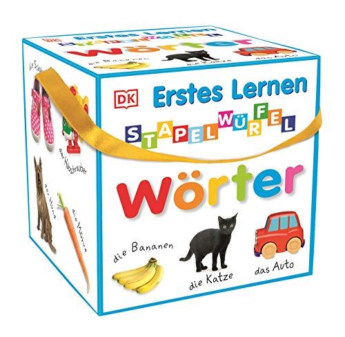 Erstes Lernen - Stapelwürfel Wörter: 10 stabile Karton-Würfel mit tollen Fotos zum Spielen, Entdecken und Benennen