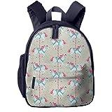 Kinderrucksack Kleinkind Jungen Mädchen Kindergartentasche Spielzeugpferd 628 Backpack Schultasche Rucksack