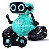 ALLCELE RC Roboter Kinder Spielzeug, Ferngesteuertes Auto Roboter Spielzeug mit Fernbedienung für Kinder ab 6+ Jahren, Süß...