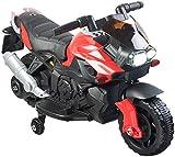 Playtastic Kinder Motorrad: Kinder-Elektromotorrad mit MP3-Funktion, Sounds & Stützrädern, 3...