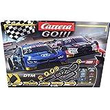Carrera GO!!! Race UP! Rennstrecken-Set   9 m elektrische Rennbahn mit Audi RS 5 Rockenfeller & BMW M4 Eng   mit 2 Handreglern &...
