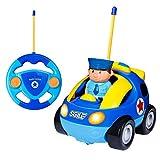 SGILE RC Auto Ferngesteuertes Spielzeugauto für Kleinkinder und Kinder, RC Polizeiauto mit...
