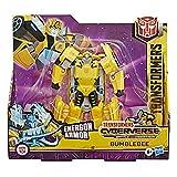 Transformers Hasbro E7106ES0 Spielzeug Cyberverse Ultra-Klasse Bumblebee Action-Figur, lässt Sich für mehr Power mit der Energon...